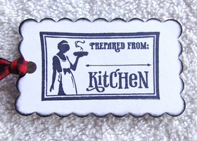 10 Kitchen Label Tags for your Jams,Desserts,etc.