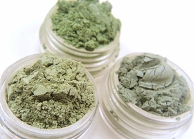 Mineral Eye Shadow Trio - Greens