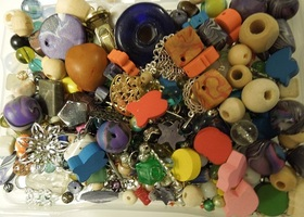 Destash! Tons of Mixed Beads and findings