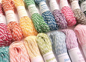 bakers twine 100 yards your choice of 5 colors