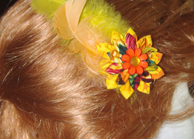 Summer Sunshine Hair Clip