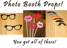 Photo Booth Props on a Stick!