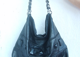 MANGO faux leather bag