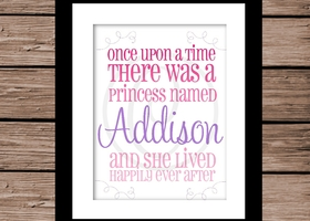 Personalized Children's Print