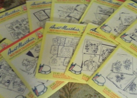 12  Aunt Martha's Hot Iron Transfers