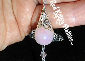 Pretty in Pink! Swarovski & Pink Quartz Filligree