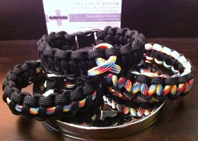 Austism Awareness Paracord Bracelet