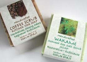 NEW Wakame and Coffee Handcrafted Vegan Soaps