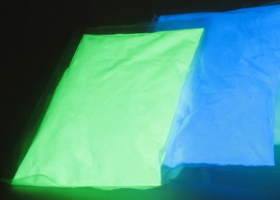 1 Ozs of Glow in the Dark Pigment.5 colors