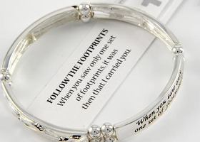 Serenity Prayer Inspirational Bangle