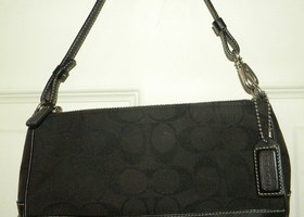 Authentic Coach 6094 Demi Bag Black