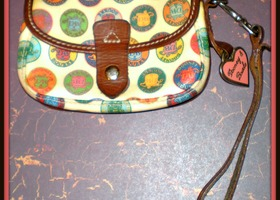 Dooney & Bourke Leather Handbag -Free U.S. Ship