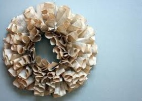 Custom Book Wreath