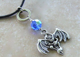 The Embrace Demon & Angel Necklace