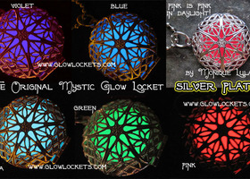 The Original Glow Locket™ Silver Pick Your Color