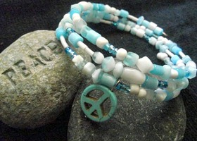 Peaceful Blues Bracelet
