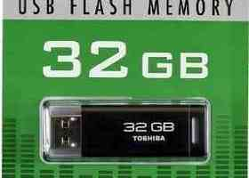 32GB Toshiba U2P USB Flash Drive