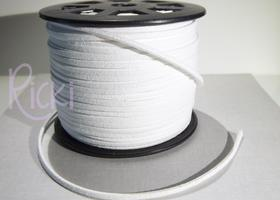 10 Yards of Faux Suede Cord - White