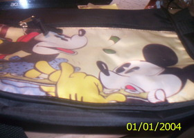 mickey book bag