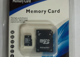 NEW 32GB MICRO SD MEMORY CARD + SD ADAPTER!