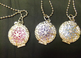"Glow Locket on 24"" chain (Bid More/Get More)"