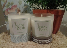 2 Mini Jenny Bean Voltive Candles