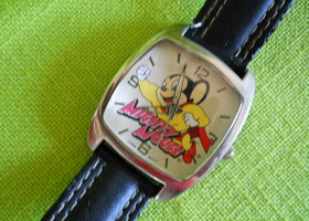 Cute Mighty Mouse Wristwatch