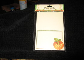 Fall Place cards 20 count