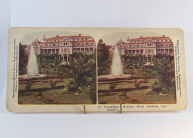 Vintage– Antique Stereoscope Card– Stereoview Frankfort