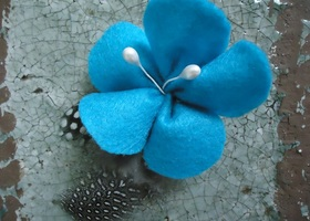 Flower Hair clips **custom**