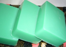 Shea Butter Lemongrass Sage Soap 4 oz