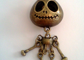 Retro Style Skeleton Necklace