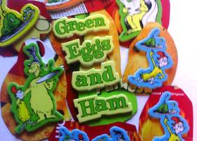 20 Cute Dr Suess Foam Magnets