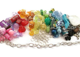Create Your Own Kit - Gumball Charm Bracelet