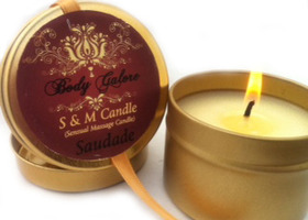2 S & M Candles (Sensual Massage Candles)