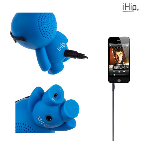 Ihip Little Dude Rechargeable Speaker For Mobile Device Tophatter